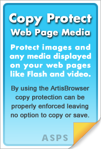 Web site protection for all media