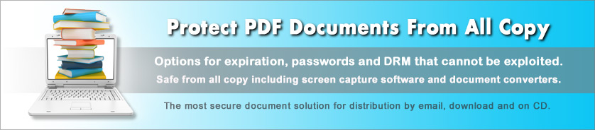 Copy protect PDF from PrintScreen and capture