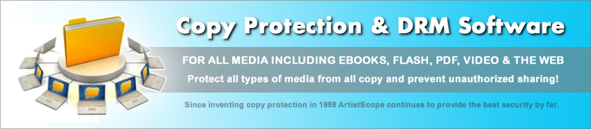Copy protection and DRM software for all media