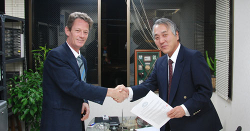 ArtistScope Tokyo contract signing